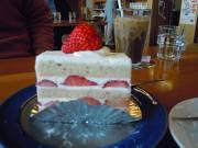 風工房のいちごケーキ
