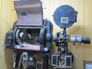 古い映写機