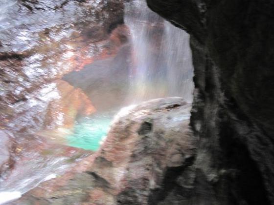 雨竜の滝(中津渓谷)